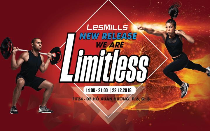 THAM DỰ LESMILLS NEW RELEASE PARTY